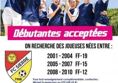 Le FC Sierre recrute